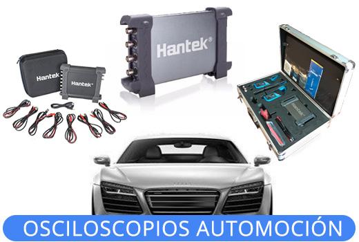 Osciloscopios automocion Hantek