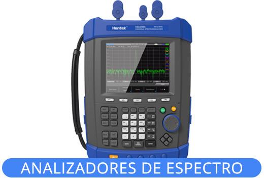 Analizadores de espectro Hantek