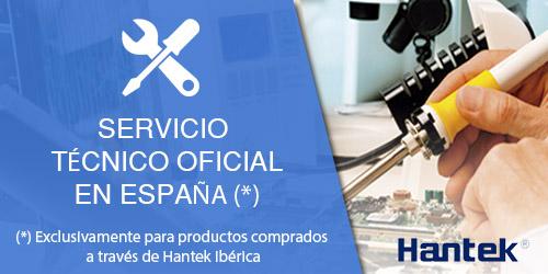 Servicio técnico oficial Hantek